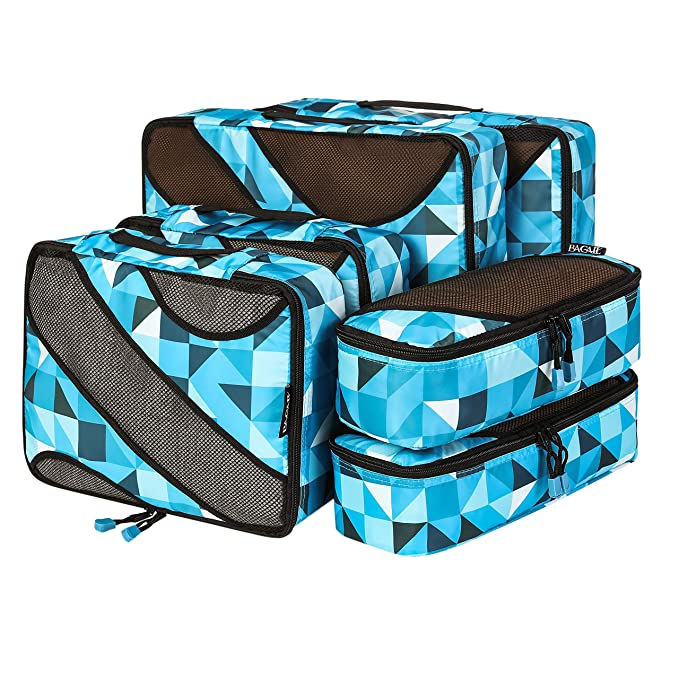 Amazon.com: Bagail - Juego de 6 cubos de embalaje, 3 ...