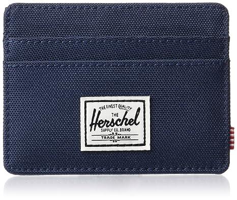 informazioni per a9aad fc960 Herschel Supply Co. mens Charlie Rfid Blocking Card Holder Wallet
