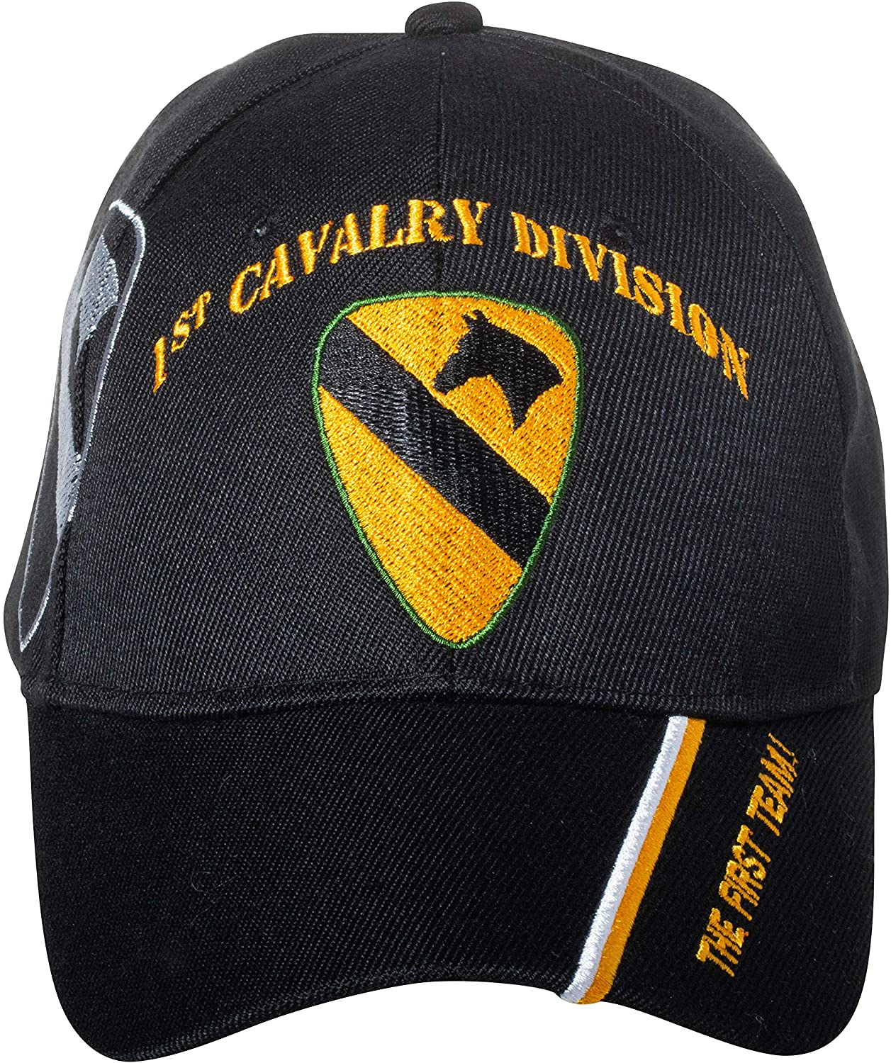 """1ST CAVALRY DIVISION /""""THE FIRST TEAM/"""" EMBROIDERED SHIRT"""