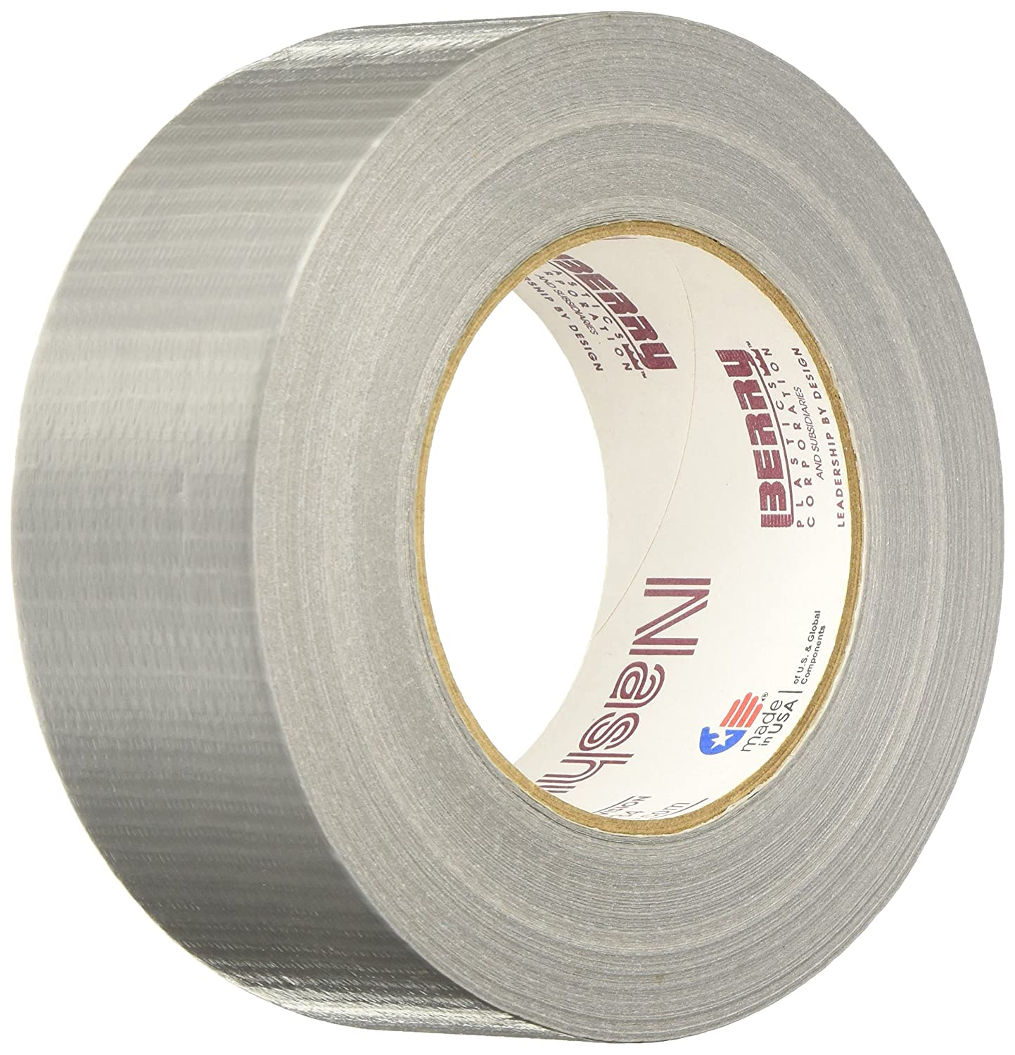 Lot Of 5 NASHUA 307 Duct Tape,48mm x 55m,7 mil,Silver Free Shipping