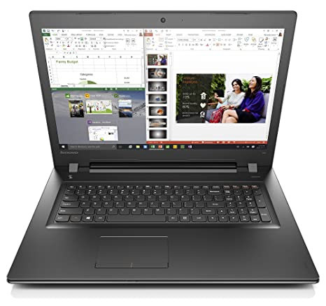 "Lenovo IdeaPad 300 17 2.5GHz i7-6500U 17.3"" 1600 x 900Pixeles Negro -"