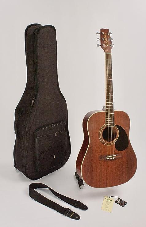 Super venta guitarra acústica 6 cuerdas acústica HMS Dreadnought ...