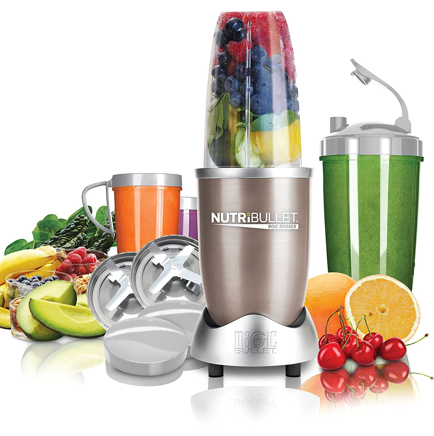 NUTRiBULLET Pro 900 Series Extractor 15 Piece Set