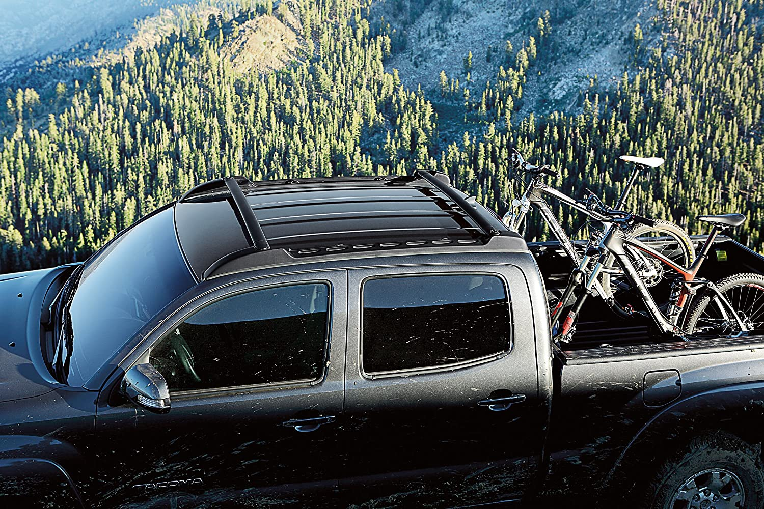 roof tacoma racks cab br toyota and baja double rack c standard pure accessories parts camper acc