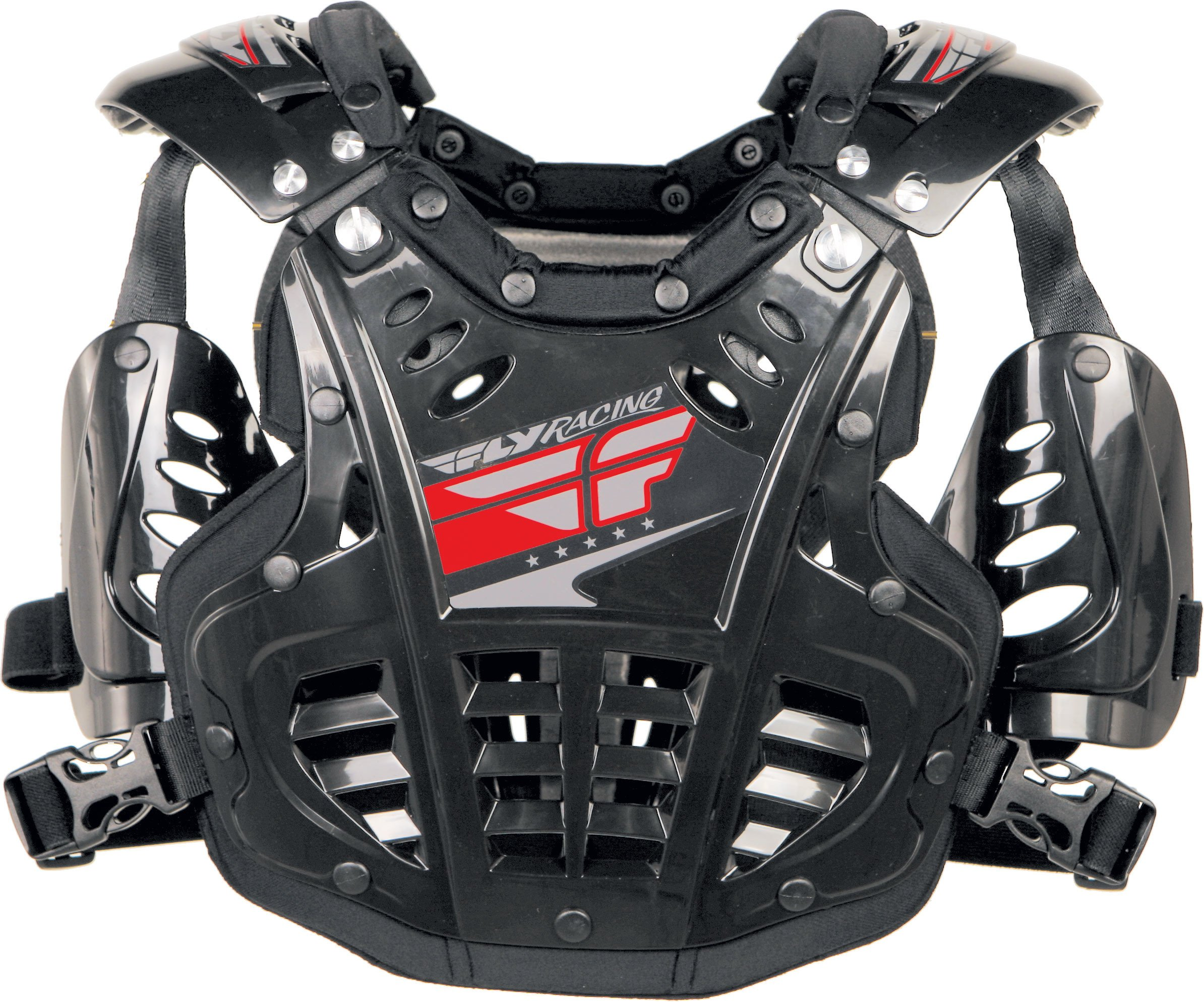 Fly Racing Polisport Fly Racing Convertible II Protective Mini Gear , Distinct Name: Black, Size Segment: Youth, Size Modifier: 40-80lbs, Primary Color: Black, Size: OSFM, Gender: Boys by Fly Racing (Image #1)
