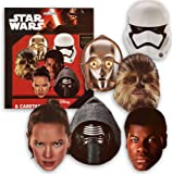 Star Wars The Force Réveil Carton Masques pk6