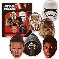 Star Wars Verbetena 014000857 Lot de 6Masques de Star Wars