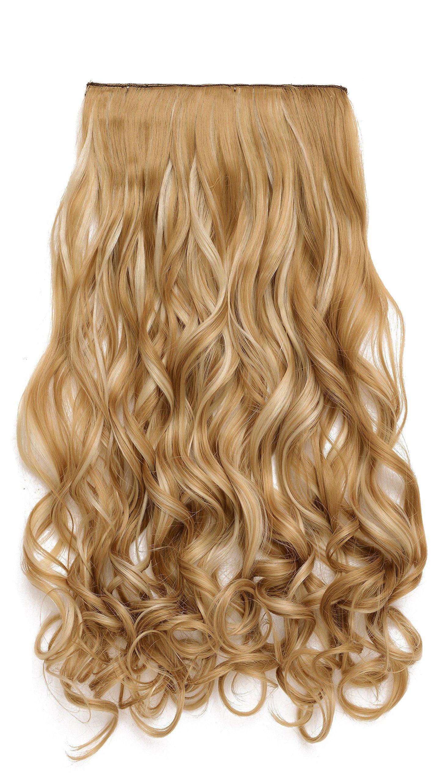Amazon onedor 20 curly full head clip in synthetic hair onedor 20 curly 34 full head synthetic hair extensions clip onin pmusecretfo Choice Image