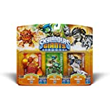 Skylanders Giants Triple Pack 6 - Eruptor (S2) / Stealth Elf (S2) / Terrafin (S2)