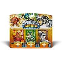 "Skylanders Giants - Character Triple Pack #6 - ERUPTOR ""S2"" / STEALTH ELF ""S2"" / TERRAFIN ""S2"""
