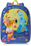 In The Night Garden Children's Plain Value Backpack, Blue