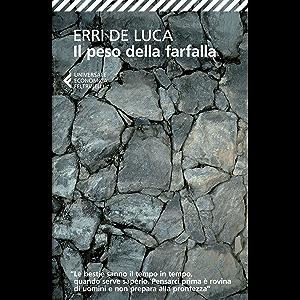 Il peso della farfalla (Italian Edition)