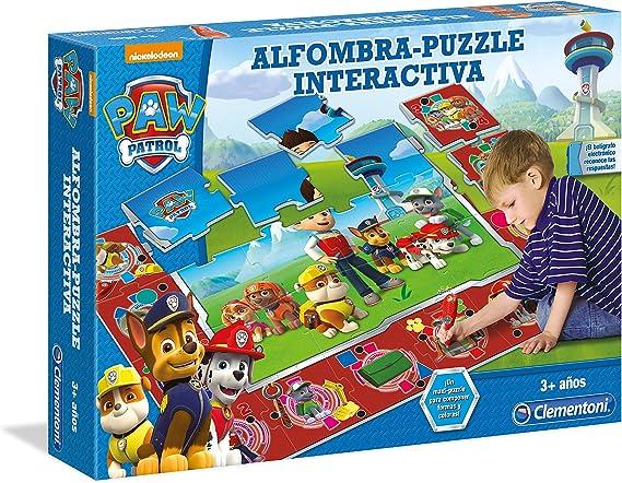 Paw Patrol - Puzzle Interactivo, 24 Piezas (Clementoni 550685 ...