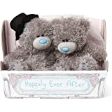Me to You Bride and Groom Tatty Teddy in Carriage Box - Wedding Gift
