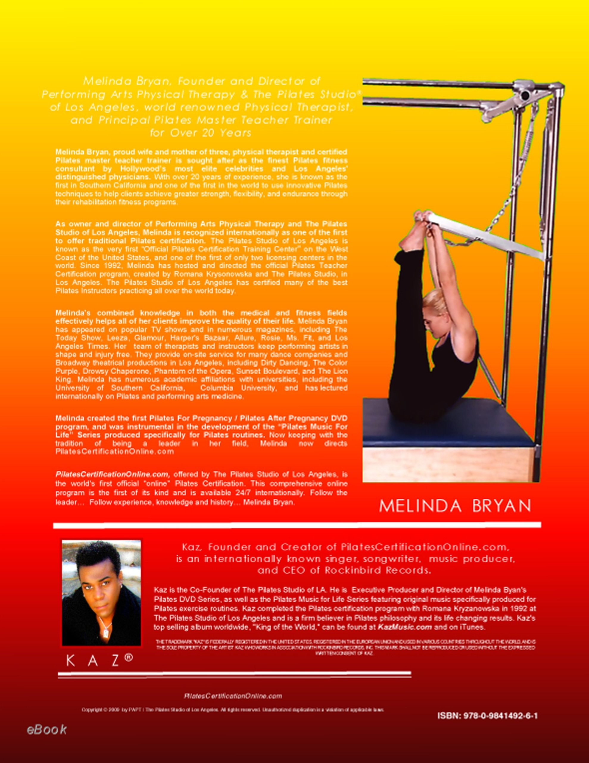Pilates Cadillac Training Manual Official International Training