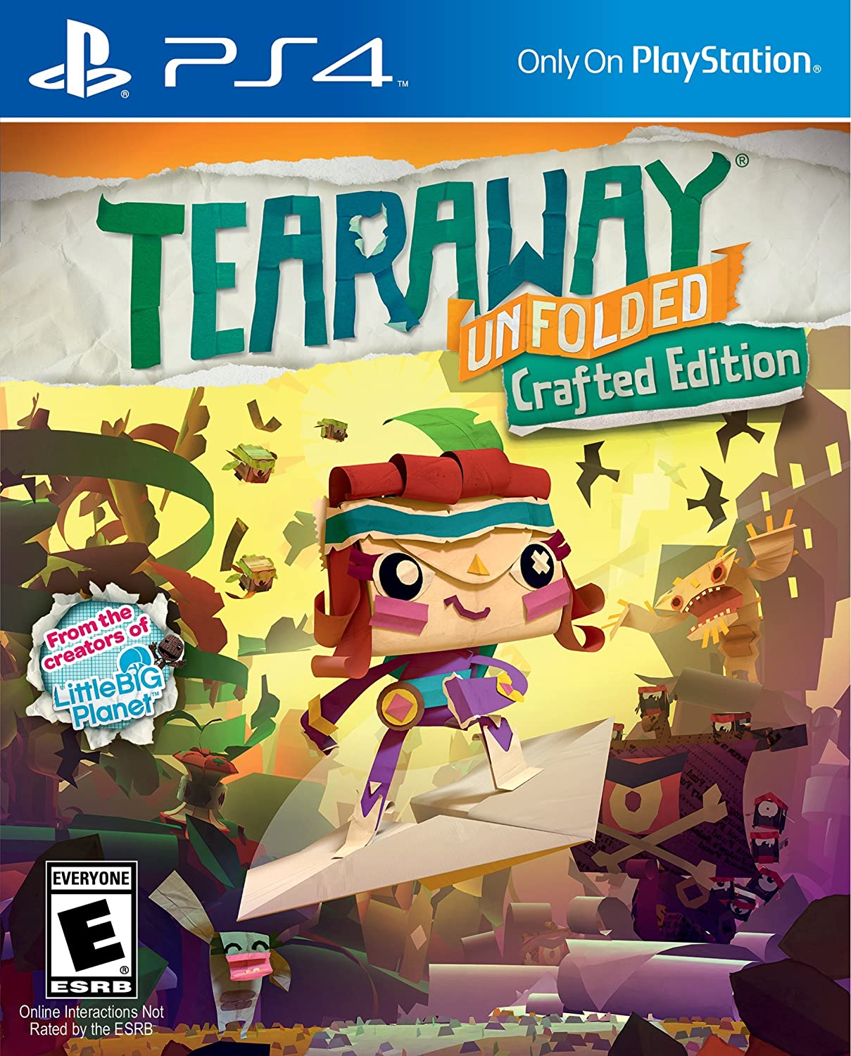 amazoncom tearaway unfolded playstation 4 sony computer entertainme video games - Ps4 Video Games