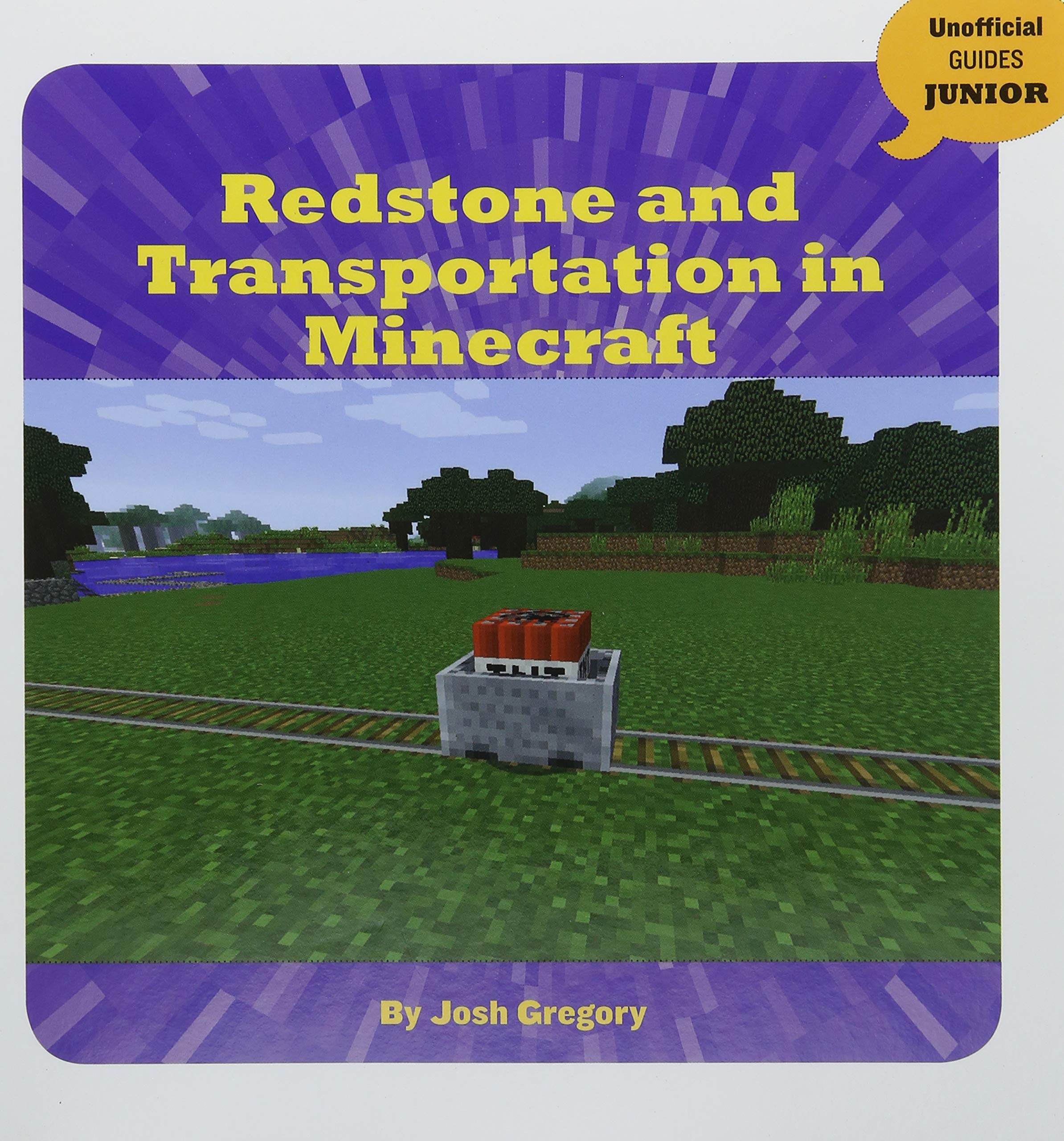 Redstone and Transportation in Minecraft (Unofficial Guides Junior) by Cherry Lake Pub (Image #1)
