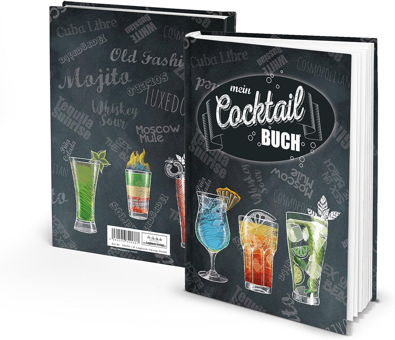 Eintragbuch Cocktailbuch Rezeptbuch zum Selberschreiben für Cocktails Bar-Getränke Mix-GetränkeAperitif happy hour Party-Drinks mit ohne Alkohol für Barkeeper & Privat: Amazon.de: Bürobedarf & Schreibwaren - Barkeeper Kurs