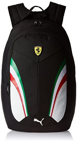Puma Ferrari 18.5 Ltrs Black Casual Backpack (7395202)  Amazon.in  Bags 85f3f468c3d08