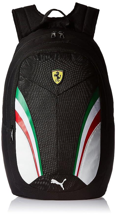 f831d8322484 Puma Ferrari 18.5 Ltrs Black Casual Backpack (7395202)  Amazon.in  Bags