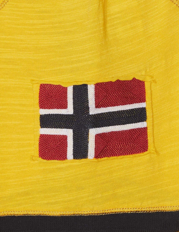 NAPAPIJRI Eech Freesia Yellow Polo Uomo