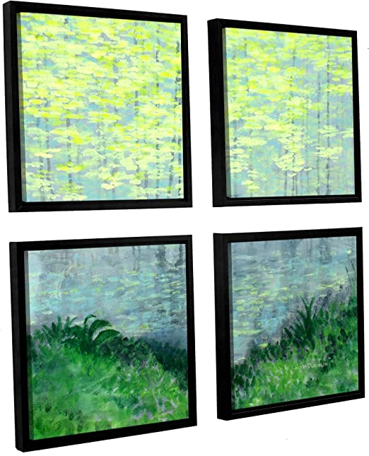 ArtWall 4 Piece Herb Dickinsons Gallery Wrapped Canvas Square Set 48 x 48