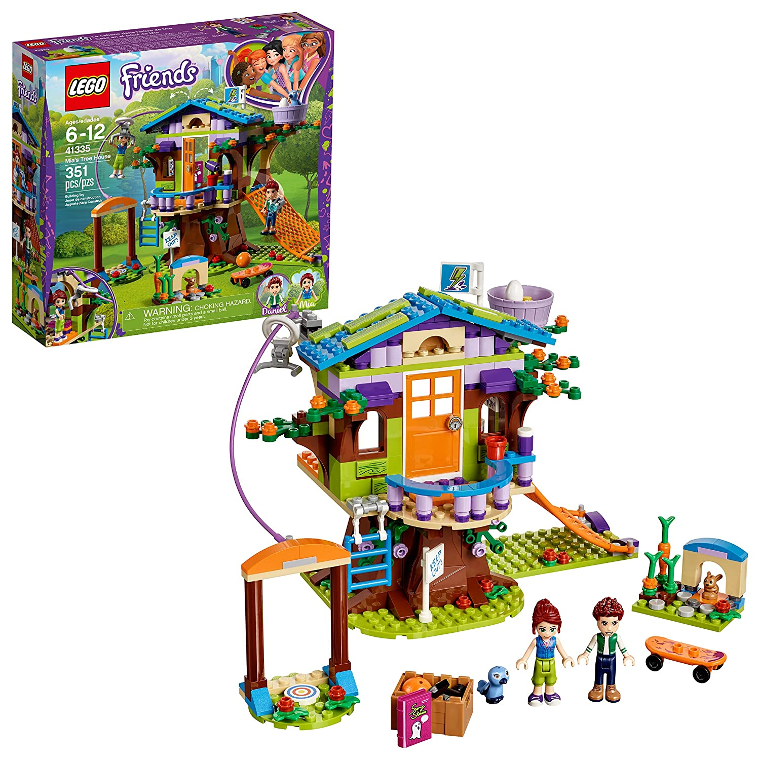 LEGO Friends Mia's Tree House.
