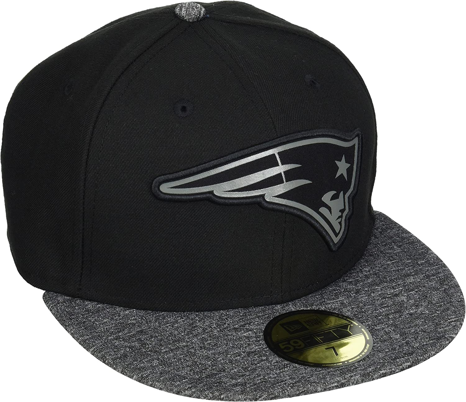 A NEW ERA 59 Fifty NFL Grey Collection England Patriots Gorra ...