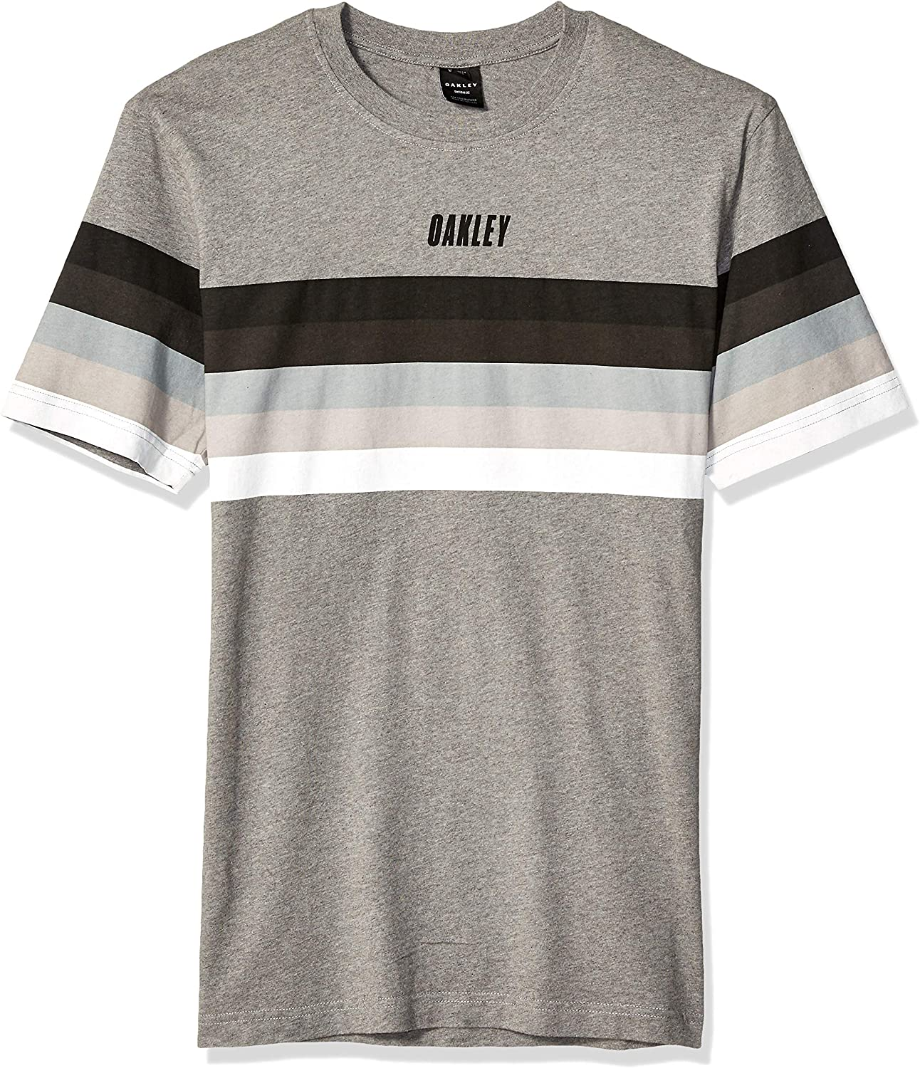 Oakley Mens TN Racing Sunset Stripe Camisa, Athletic Heather Grey, XXL para Hombre: Amazon.es: Ropa y accesorios