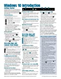 Windows 10 Introduction Quick Reference Guide (Cheat Sheet of Instructions, Tips & Shortcuts - Laminated)