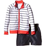 SwimZip Little Boy Long Sleeve Zipper UV...