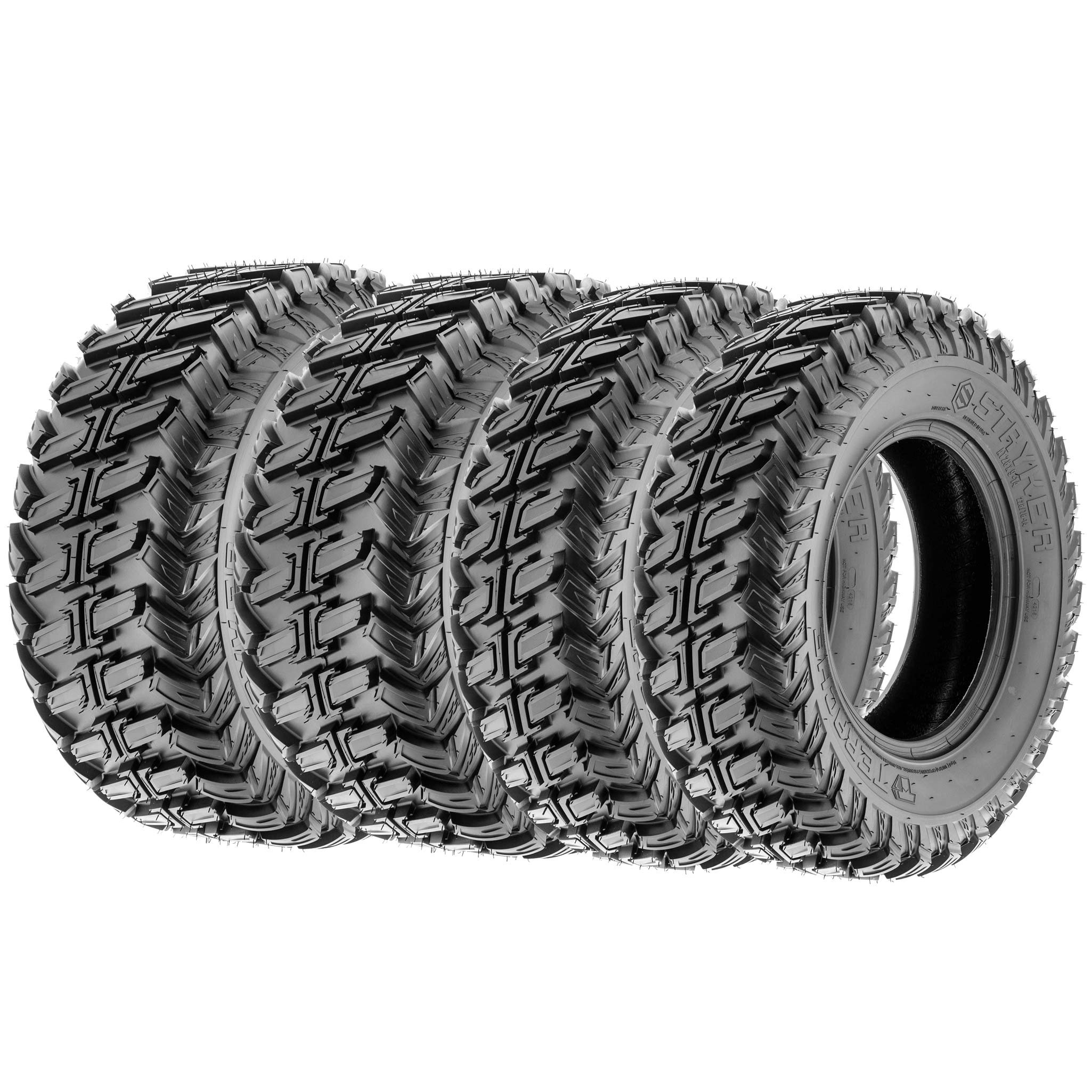 Terache STRYKER AT All Trail ATV UTV Tires 28x9-14 & 28x11-14 8 Ply (Complete Set of 4, Front & Rear)