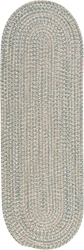Tremont Area Rug, 2 by 8-Feet, Teal