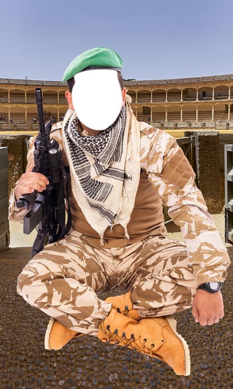 Montaje de la foto del ejército: Amazon.es: Appstore para Android