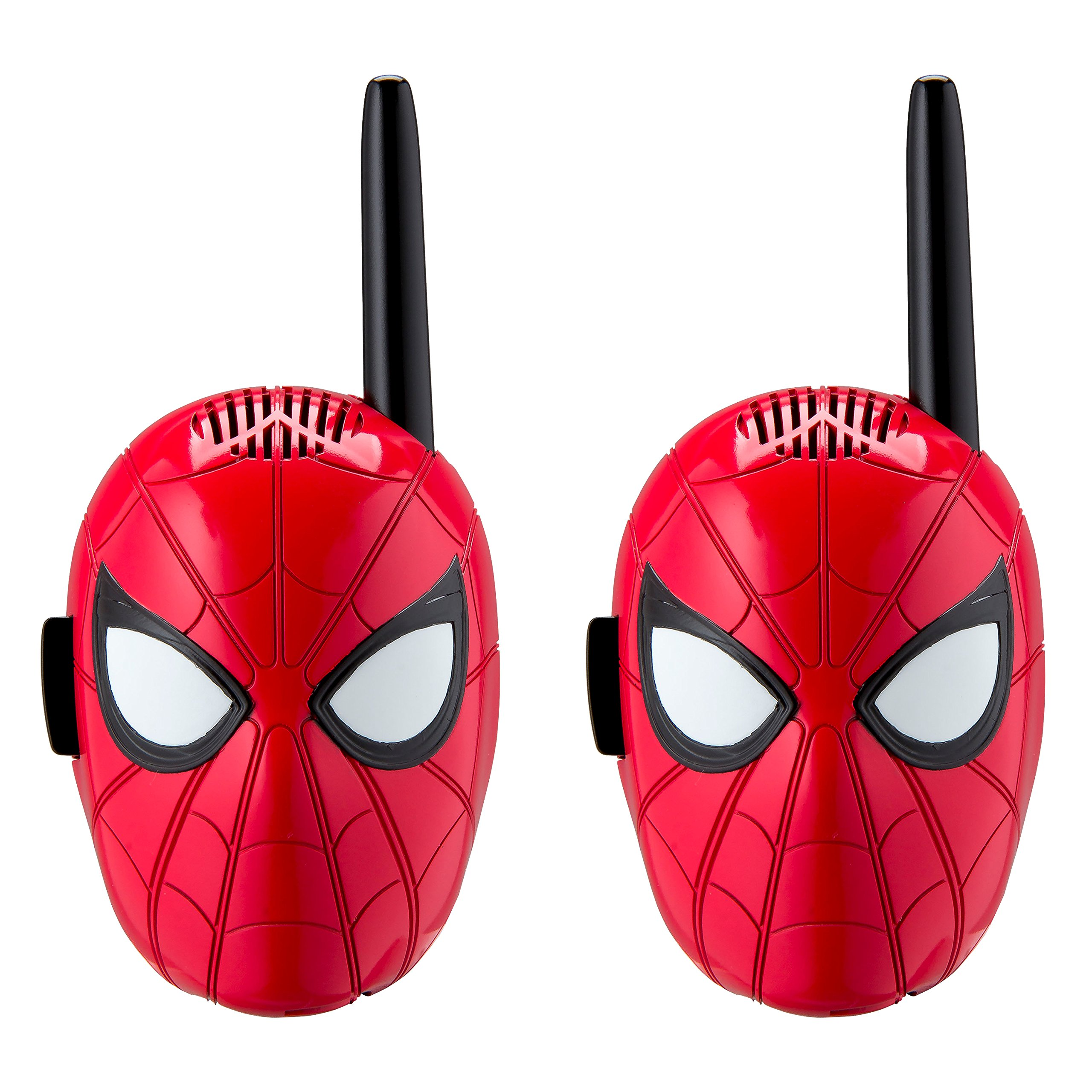 Spiderman Walkie Talkies for Kids Static Free Extended Range Kid Friendly Easy to Use 2 Way Walkie Talkies