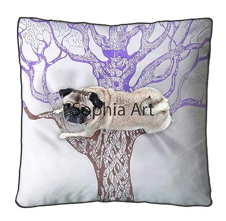 Sophia Art Tree Life - Funda de cojín Grande para el Suelo ...