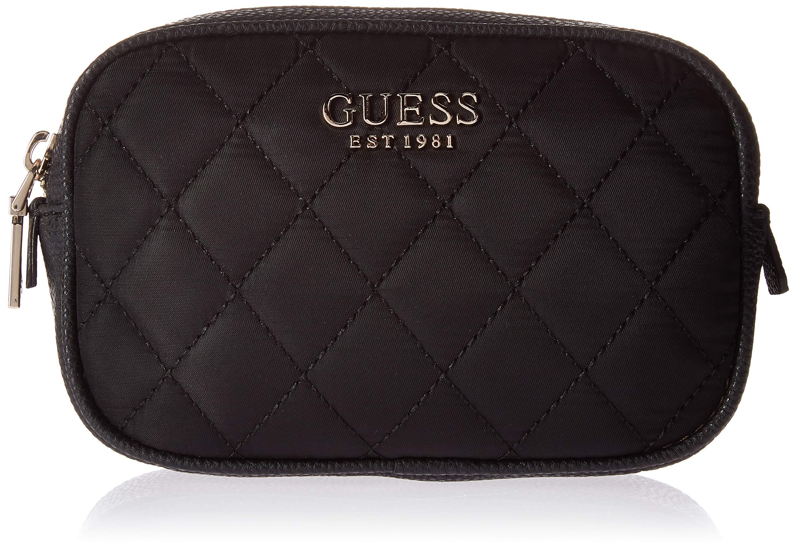 GUESS Sweet Candy Nylon Belt Bag,  Black, One Size