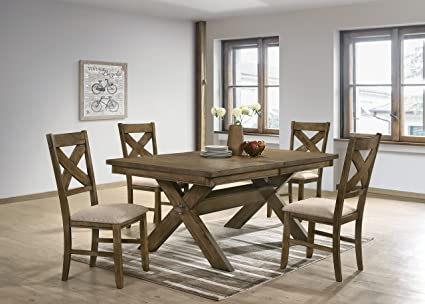 Amazon.com - Raven Wood Dining Set: Butterfly Leaf Table ...