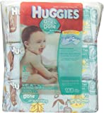 Huggies One & Done Baby Wipes, Soft Pack, Cucumber & Green Tea, 3 Packs of 56 Count, 168 Total Wipes