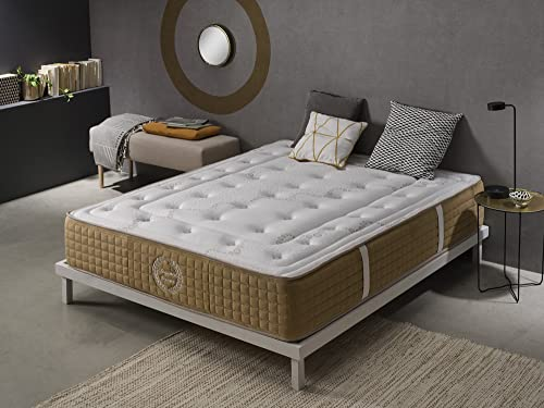 SIMPUR RELAX | Elegance 13-Zone Orthopaedic Memory Foam Mattress Super King Size 180x200 | Extra confort multi layer matress | Depth 30 cm | Hand-stitched | Featuring a comfortable medium-firm support. | Superior materials | Covering 100% Hypoallergenic | Advanced ventilation system |Certification Oeko-tex® | Certification ISO 9001 ® | Certification Cetem® | Made 100% EU. | 100% Quality- Satisfaction | Guarantee 5 Years.