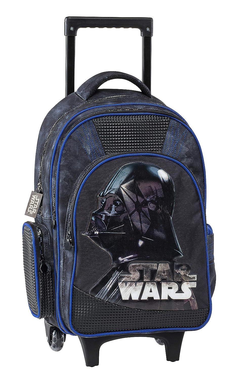 Graffiti Star Wars Mochila Escolar, 44 cm, Negro (Black): Amazon.es: Equipaje