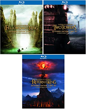 Amazon com: The Lord of the Rings Trilogy - Extended Edition - 6