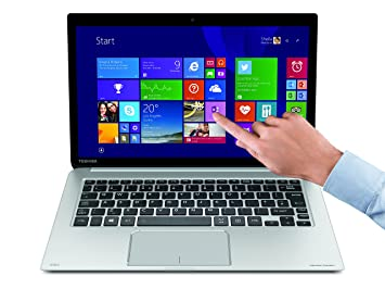 Toshiba Kira 107 - Ordenador portátil (Ultrabook, Clickpad, Windows 8 Pro , Polímero de Litio, 64-bit, Negro, Plata, QWERTZ): Amazon.es: Informática