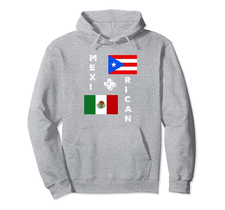 MexiRican Mexican Puerto Rican Mix Race Biracial Hoodie Swea-alottee gift