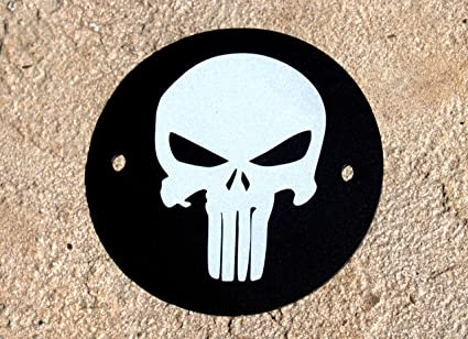 Amazon Com Original Punisher Skull 2 Hole Points Timing Cover