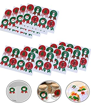 christmas seals and labelsfashionclubs baked envelope seal sticker labelsdecorative christmas adhesive packing - Decorative Christmas Labels