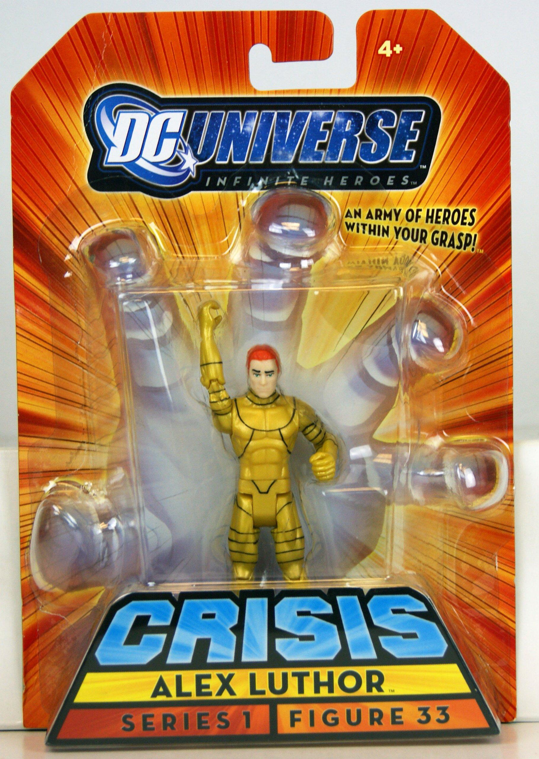 Mattel DC Universe Crisis Infinite Heroes Series 1 Alex Luthor Action Figure #33