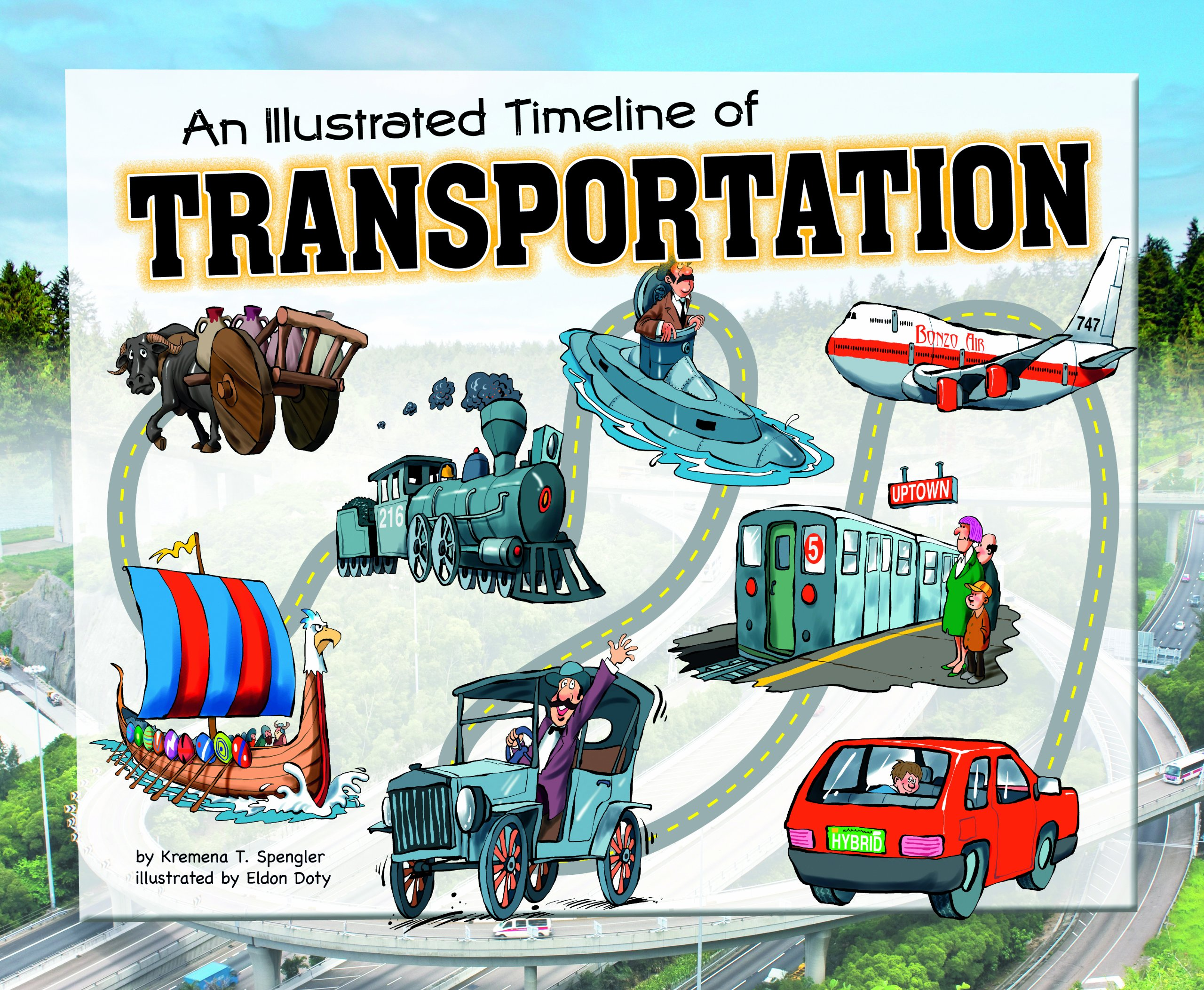 Illustrated Timeline of Transportation (Visual Timelines in ...