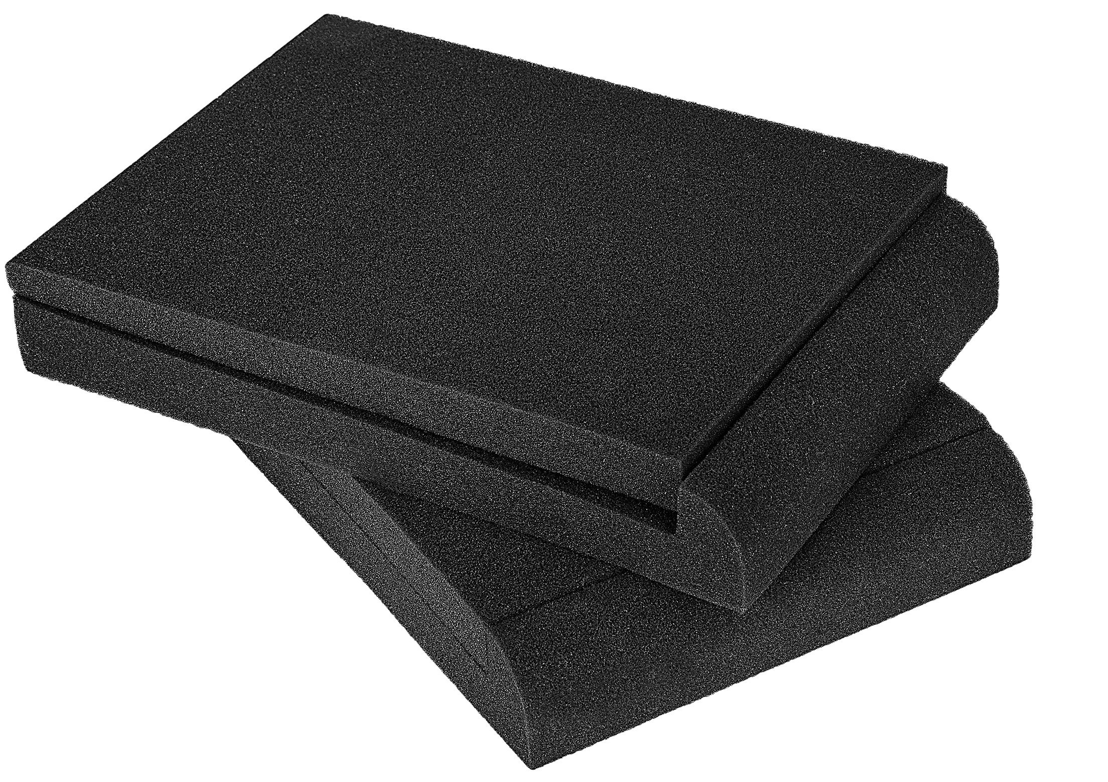 "Daoe High-Density Studio Monitor Isolation Pads Pair For 5"" Monitors Speaker Stands - 2 Pack by Daoe"