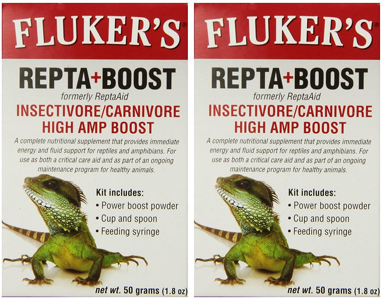 Fluker's Repta+Boost Insectivore & Carnivore High Amp Boost 50gm TopDawg Pet Supply 919041